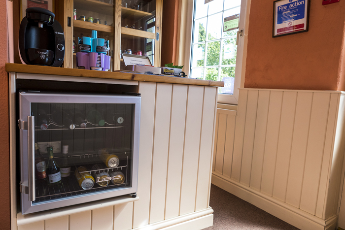 Honesty bar for our guests at Edale House