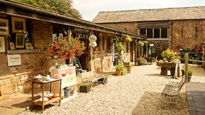 Harts Barn Craft Centre and The Old Dairy Tea Room