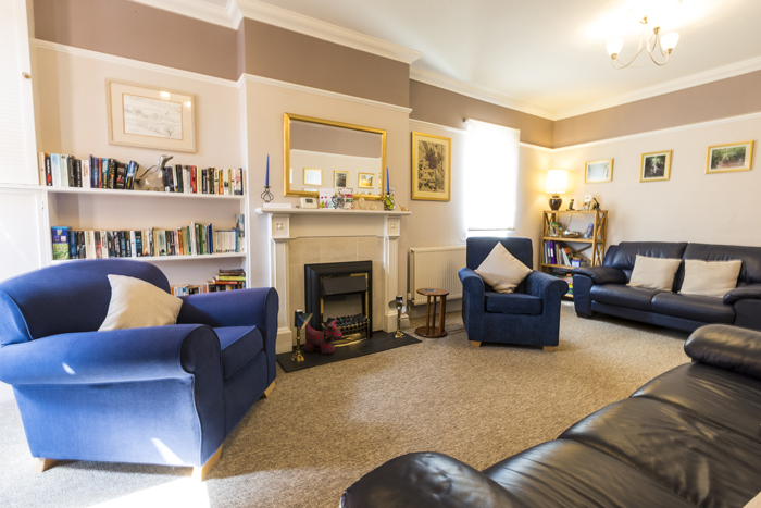 Guest lounge, group accommodation Forest of Dean