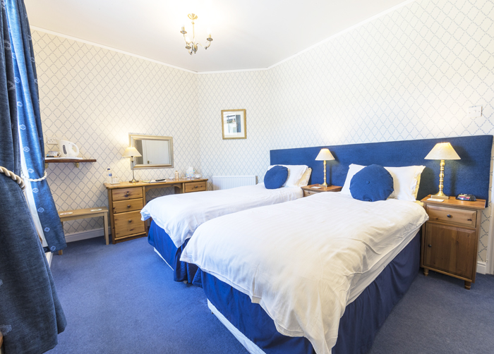 Comfortable bedrooms at Edale House Bed & Breakfast