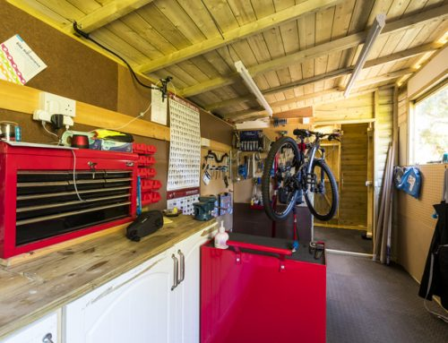 New Cycle Storage and Wash Facilities