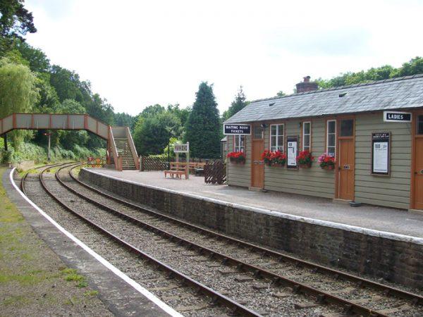 Parkend Railway Station Dean Forest Railway