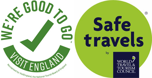 We're Good To Go and WTTC SafeTravels Stamp